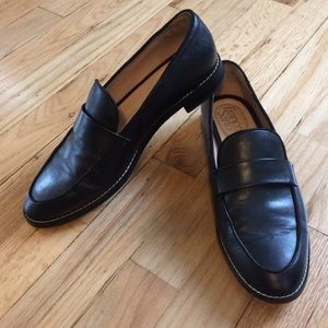 Franco Sarto Leather Loafers